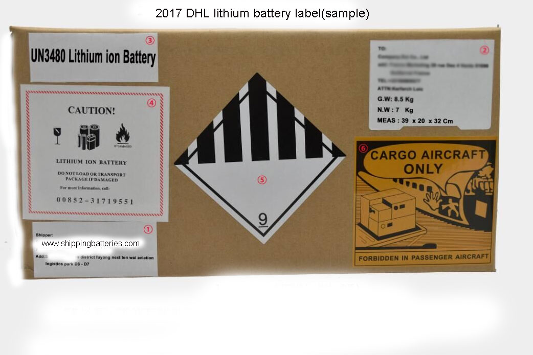 Shipping Batteries By DHL | Compliance Shipping Lithium